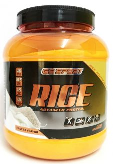 אבקת חלבון אורז בטעם ווניל 600 גרם G.S Rice Protein