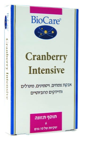 קרנברי אינטנסיב Cranberry Intensive באבקה ביוקר