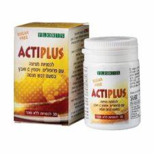 אקטיפלוס ACTIPLUS ללא סוכר 30 לכסניות FLORIS