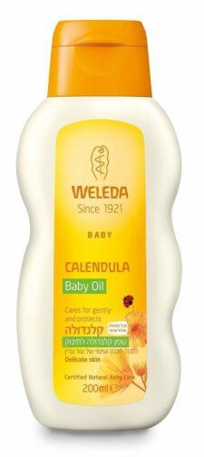 """שמן קלנדולה לתינוק 200 מ""""ל וולדה"""