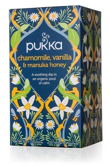 חליטת Pukka  Chamomile&Vanilla&Manuka Honey