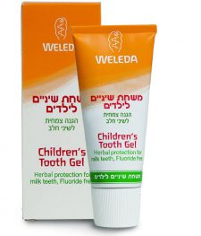 """משחת שיניים לילדים 50 מ""""ל וולדה בתוקף 04/19"""