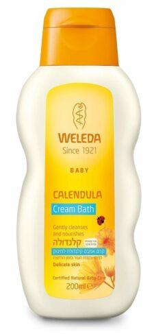 קרם אמבט קלנדולה לתינוק וולדה