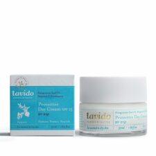 """קרם יום לעור רגיל עד יבש(קרם פנים) -  50 מ""""ל Lavido"""