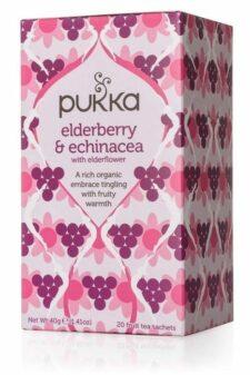 חליטת Pukka  Eldeberry& Echinacea