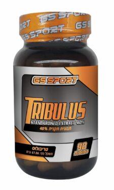"""טריבולוס 500 מ""""ג 90 כמוסות  G.S Tribulus"""