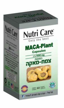 """צמח מאקה 500 מ""""ג 60 כמוסות MACA-Plant נוטריקר"""