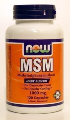 "MSM 1000 מ""ג 120 קפסולות NOW"