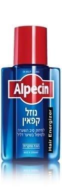 """נוזל קפאין 200 מ""""ל  Alpecin"""
