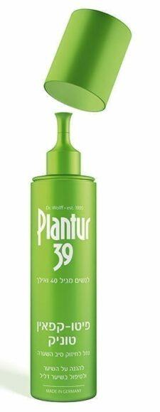 """פלנטור 39 פיטו קפאין טוניק לשיער דק ודליל 200 מ""""ל"""