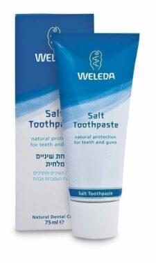 """משחת שיניים מלחית 75 מ""""ל וולדה"""