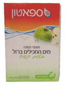 ספאטון בטעם תפוח 28 יח' spatone