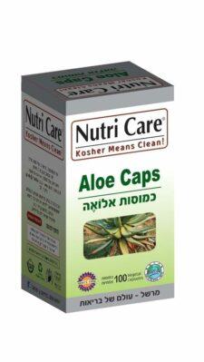 אלואה Aloe נוטרי קר 100 כמוסות צמחיות