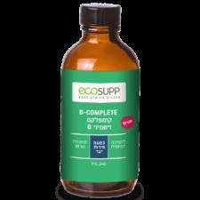 קומפלקס ויטמיני B בנוזל בטעם פירות יער ECOSUPP
