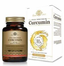 כורכומין ספקטרום (כורכום) Full spectrum curcumin X185 סולגאר