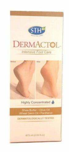 דרמקטול -קרם רגליים טיפולי אינטנסיבי DERMACTOL