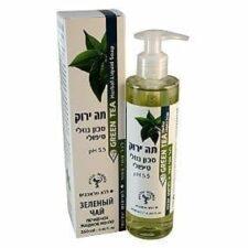 תה ירוק סבון נוזלי טיפולי דן פארם