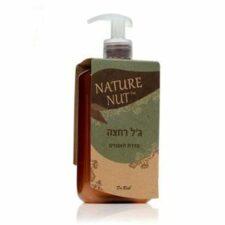 """ג'ל רחצה 400 מ""""ל Nature nut"""