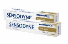 """זוג משחת שיניים סנסודיין הגנה כפולה 75X2 מ""""ל SENSODYNE"""