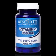 ויטמין 500 C בשיחרור מושהה 100 טבליות נטורליס